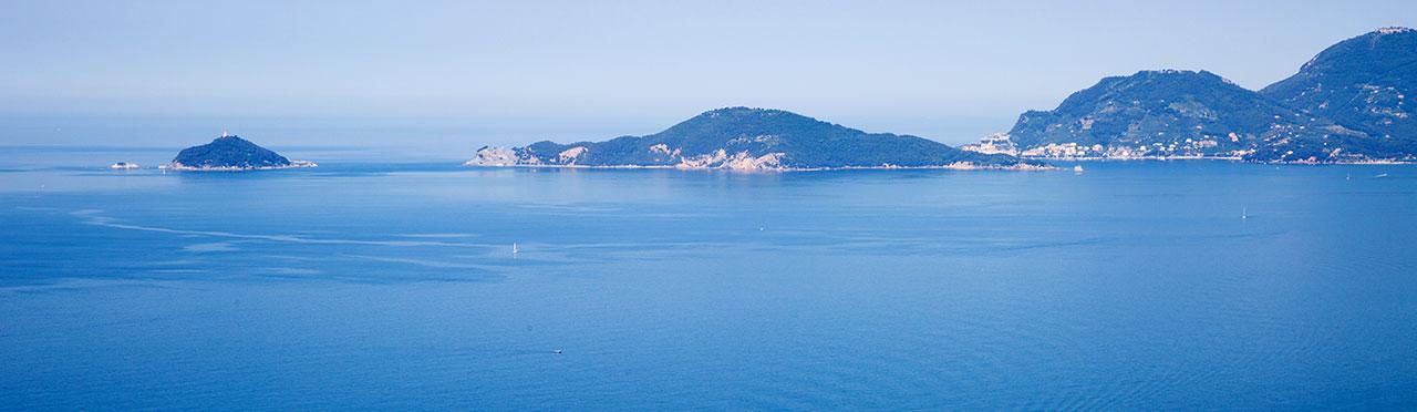 Bocca di Magra Portovenere Isola Palmaria